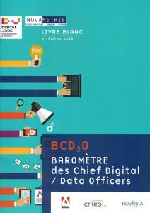 Baromètre des Chief Digital / Data officers